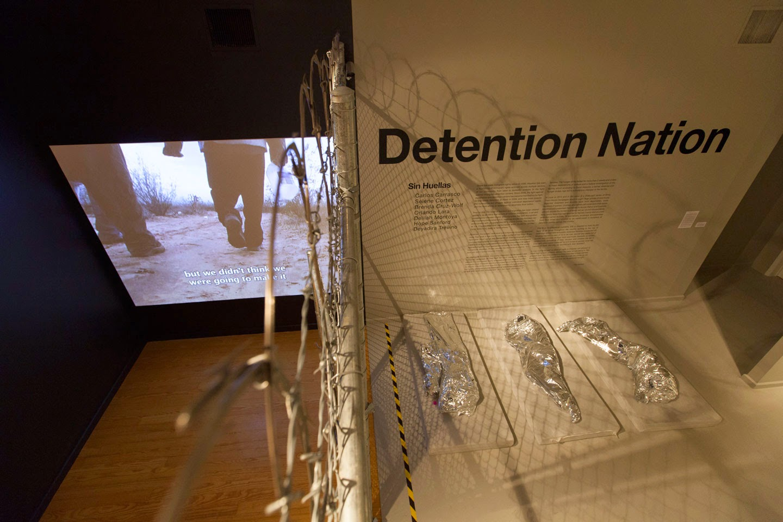 "Sin Huellas (Without Fingerprints), ""Detention Nation"", 2014, Installation"