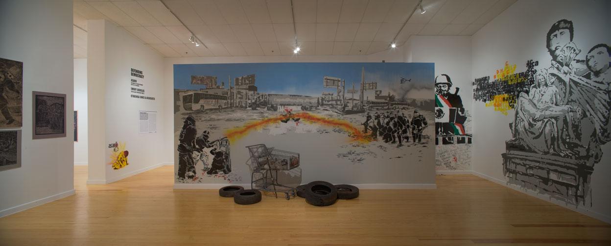 ASARO, Assembly of Revolutionary Artists of Oaxaca