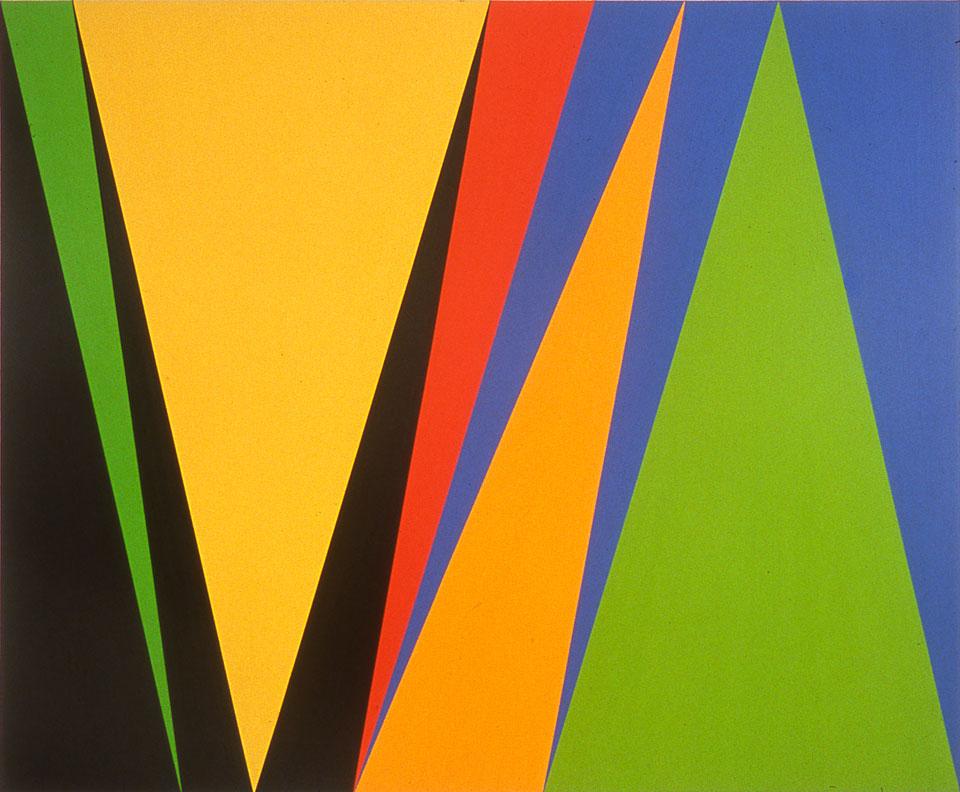 "James Little, ""Portrait of a Star"", 2002, oil, wax, canvas, 78""x96"""