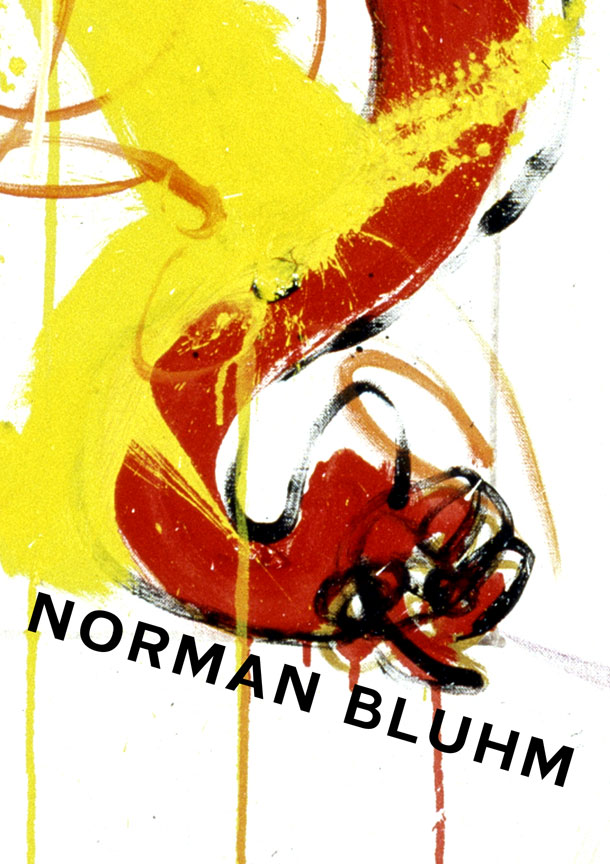 the late paintings of Norman Bluhm