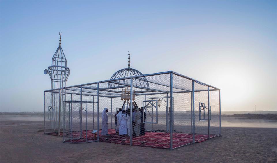"""Ajlan Gharem, """"Paradise Has Many Gates,"""" 2015"""