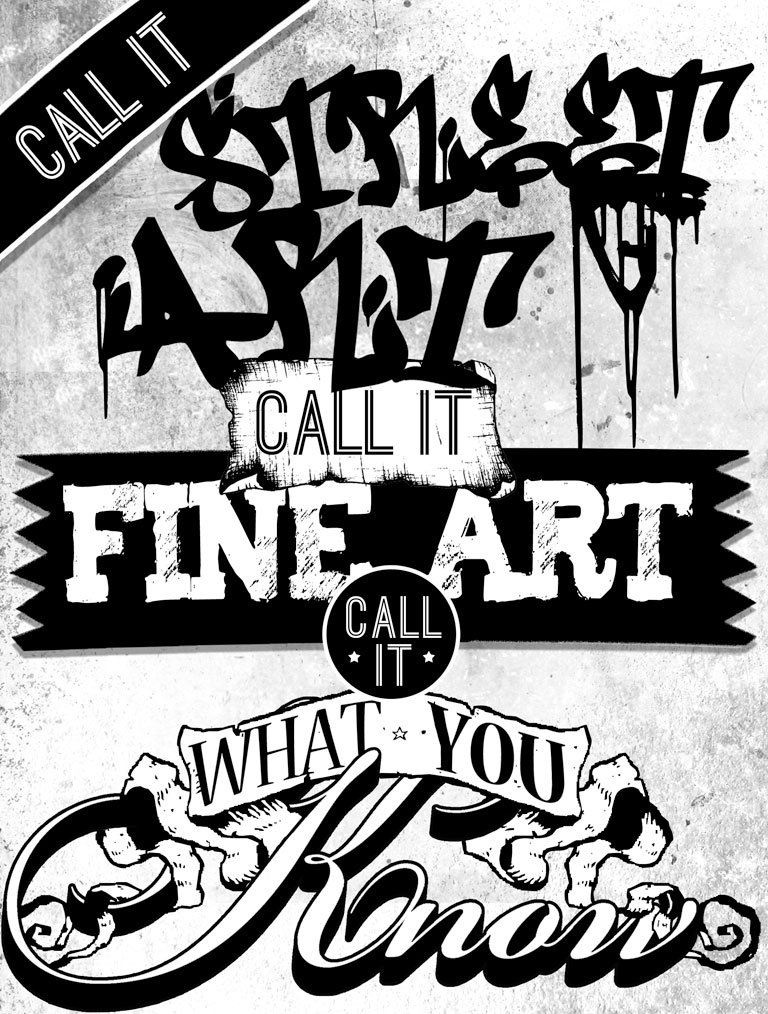CALL IT STREET ART, CALL IT FINE ART, CALL IT WHAT YOU KNOW - Station Museum of Contemporary Art