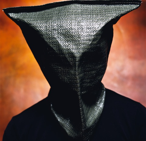 "Andres Serrano, ""The Hood"", 2005, The New York Times Magazine"