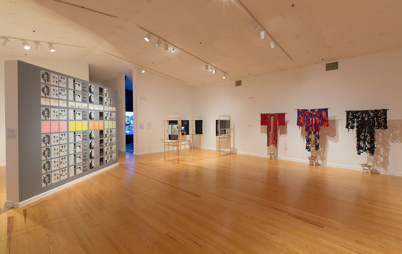 """""""in(di)visible, 2018, installation view Station Museum of Contemporary Art"""