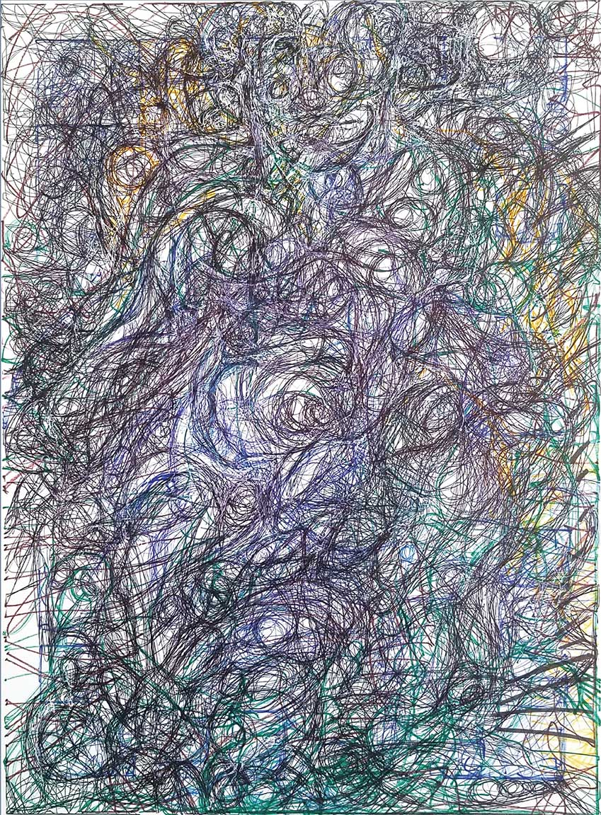 """From the series Drawing: """"An Exploratory Process"""" by Jesse Lott"""