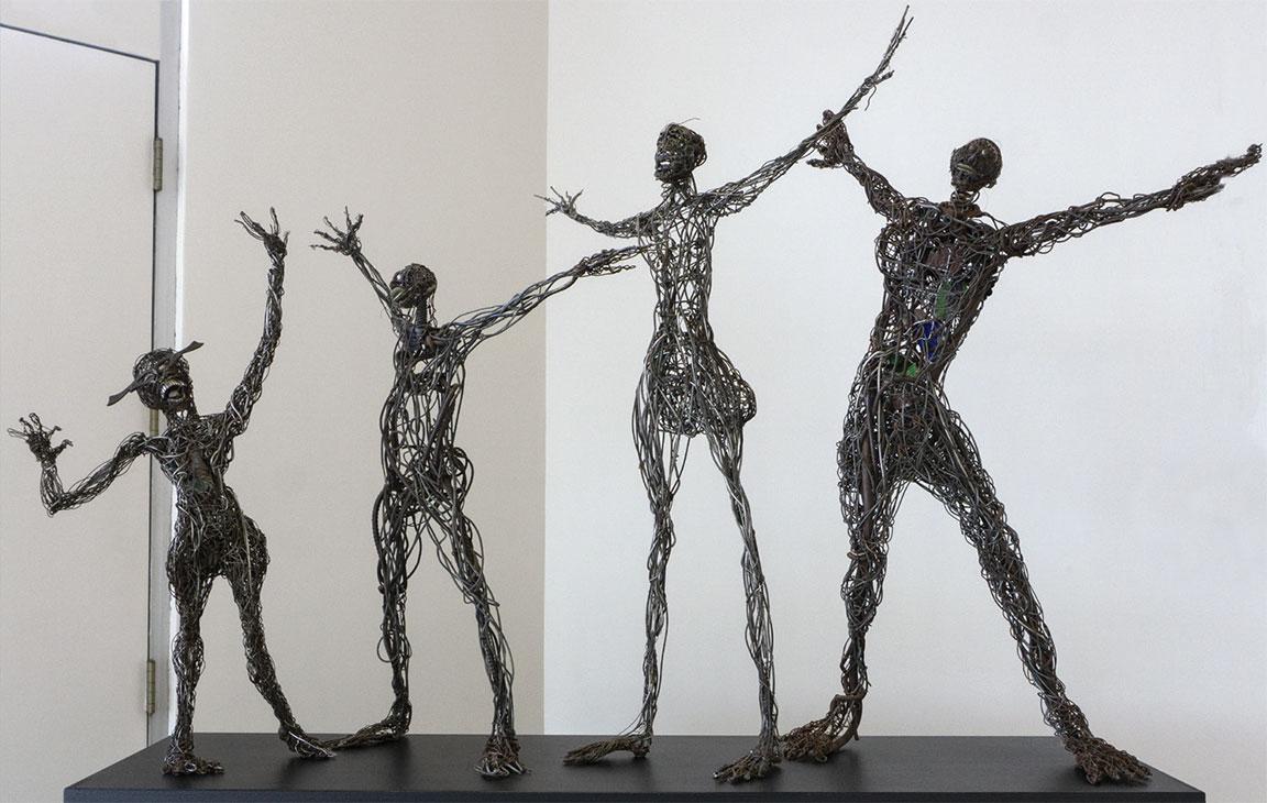 """""""Wire Figures"""" by Jesse Lott"""