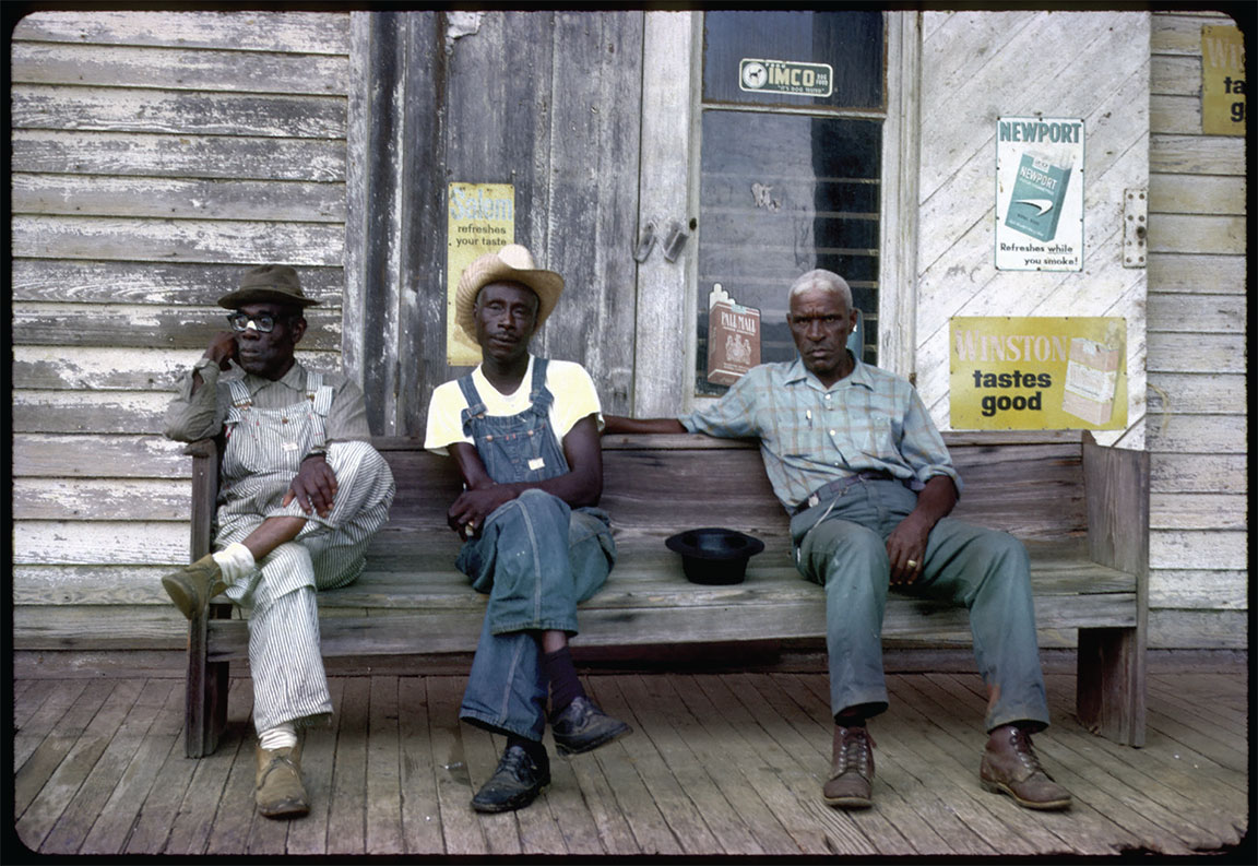 """The Porch Crew,"" 1973, Photograph by Travis Whitfield"